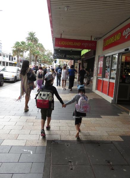 子連れ初海外!オーストラリア旅行記 1日目 いよいよシドニーへ